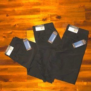 NWT Set of 3! Nautica navy uniform shorts- size 12
